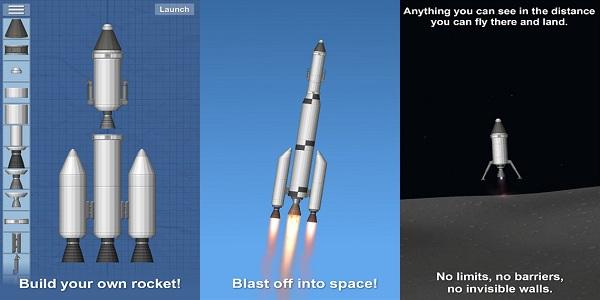 航天模拟器国际版:一款关于自制火箭和发射的天空探索休闲娱乐游戏